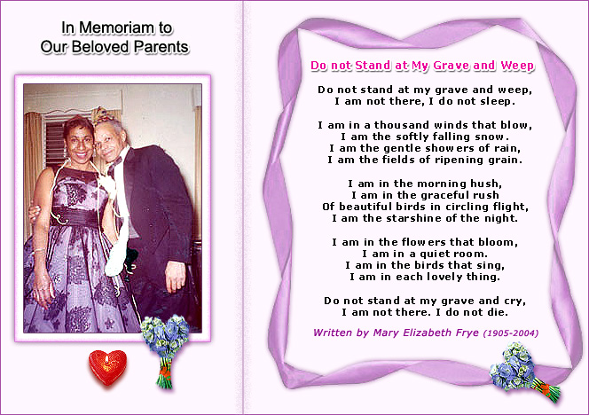 Bereavement Poem